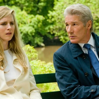 Brit Marling stars as Brooke Miller and Richard Gere stars as Robert Miller in Roadside Attractions' Arbitrage (2012). Photo credit by Myles Aronowitz.