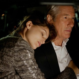 Laetitia Casta stars as Julie Cote and Richard Gere stars as Robert Miller in Roadside Attractions' Arbitrage (2012)