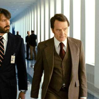Ben Affleck stars as Tony Mendez and Bryan Cranston stars as Jack O'Donnell in Warner Bros. Pictures' Argo (2012)