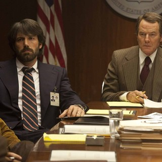 Alan Arkin stars as Lester Siegel and Ben Affleck stars as Tony Mendez in Warner Bros. Pictures' Argo (2012)