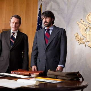 Bryan Cranston stars as Jack O'Donnell and Ben Affleck stars as Tony Mendez in Warner Bros. Pictures' Argo (2012)