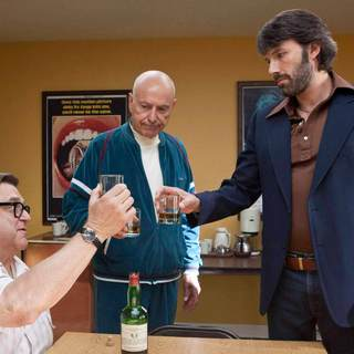 John Goodman, Alan Arkin and Ben Affleck in Warner Bros. Pictures' Argo (2012)