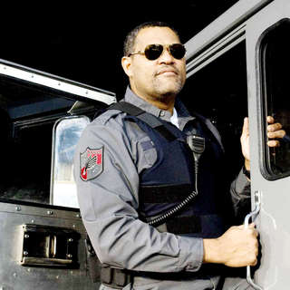Laurence Fishburne stars as Baines in Screen Gems' Armored (2009) - armored05