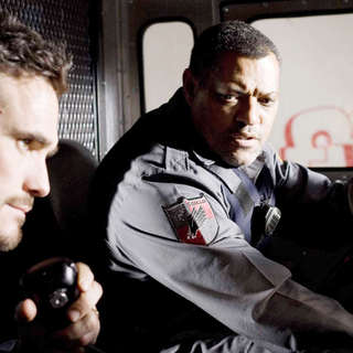 Matt Dillon stars as Mike Cochrone and Laurence Fishburne stars as Baines in Screen Gems' Armored (2009) - armored06