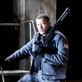 Laurence Fishburne stars as Baines in Screen Gems' Armored (2009) - armored08