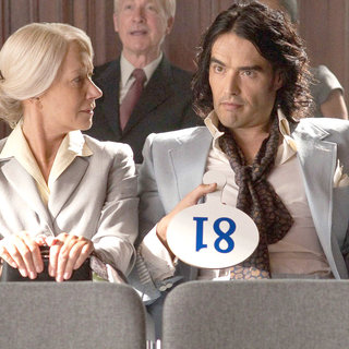 Helen Mirren and Russell Brand stars as Arthur in Warner Bros. Pictures' Arthur (2011)
