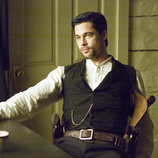 "Brad Pitt as Jesse James in ""The Assassination of Jesse James by the Coward Robert Ford"" (2006)"