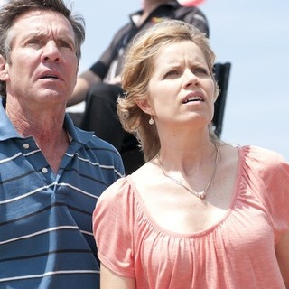 At Any Price - Dennis Quaid stars as Henry Whipple and Kim Dickens stars as Irene Whipple in Sony Pictures Classics' At Any Price (2013)