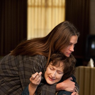 Julia Roberts stars as Barbara Weston and Meryl Streep stars as Violet Weston in The Weinstein Company's August: Osage County (2013) - august-osage-county04