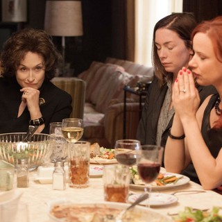 Meryl Streep, Julianne Nicholson and Juliette Lewis in The Weinstein Company's August: Osage County (2013) - august-osage-county07