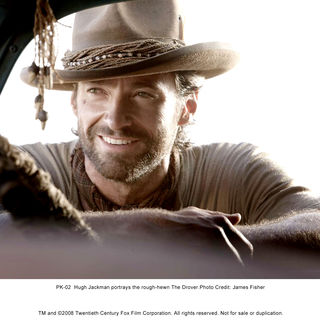 Australia - Hugh Jackman stars as The Drover in The 20th Century Fox's Australia (2008). Photo credit by James Fisher.