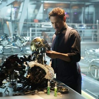 Avengers: Age of Ultron - Robert Downey Jr. stars as Tony Stark/Iron Man in Walt Disney Pictures' Avengers: Age of Ultron (2015)
