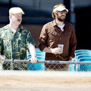 Jim Gaffigan stars as Lowell and John Krasinski stars as Burt in Focus Features' Away We Go (2009). Photo credit by Teresa Isasi.