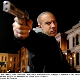 Babylon A.D. - Vin Diesel stars as Toorop in The 20th Century Fox's Babylon A.D. (2008). Photo credit by Guy Ferrandis.