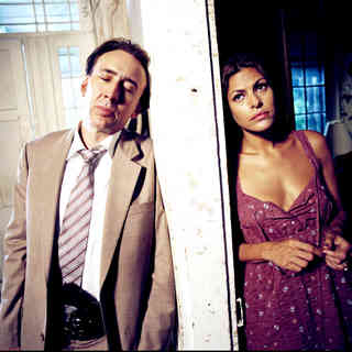 Nicolas Cage stars as Terrence McDonagh and Eva Mendes stars as Frankie Donnenfeld in First Look Studios' Bad Lieutenant: Port of Call New Orleans (2009)
