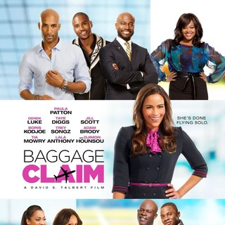 Poster of Fox Searchlight Pictures' Baggage Claim (2013) - baggage-claim-poster01