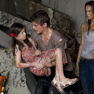 Xavier Samuel stars as Josh and Sharni Vinson stars as Tina in Anchor Bay Films' Bait (2012)