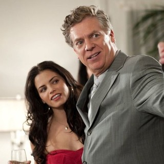 Melissa Molinaro stars as Melissa and Christopher McDonald stars as Mr. Matthews in Midwest Movies' Balls to the Wall (2011)