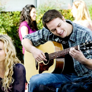 Alyson Michalka stars as Charlotte Banksasks and Scott Porter stars as Ben Wheatley in Summit Entertainment's Bandslam (2009)