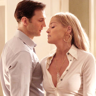 Basic Instinct 2 - David Morrissey and Sharon Stone in Sony Pictures Entertainment's Basic Instinct 2 (2006)