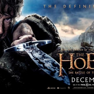 Poster of Warner Bros. Pictures' The Hobbit: The Battle of the Five Armies (2014) - battle-of-5-armies-pstr01