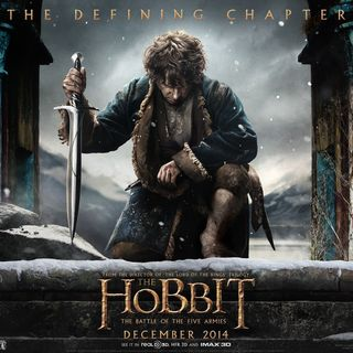 Poster of Warner Bros. Pictures' The Hobbit: The Battle of the Five Armies (2014) - battle-of-the-5-armies-pstr03