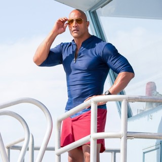 Baywatch - The Rock stars as Mitch Buchannon in Paramount Pictures' Baywatch (2017)
