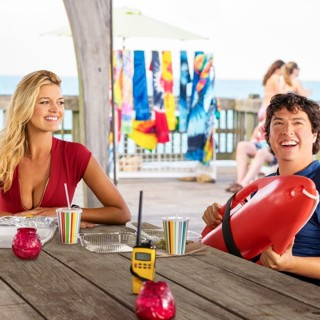 Baywatch - Kelly Rohrbach stars as CJ Parker and Jon Bass stars as Ronnie Greenbaum in Paramount Pictures' Baywatch (2017)