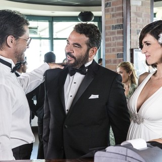 Rob Lowe, Hemky Madera and Paz Vega  in Lifetime's Beautiful & Twisted (2015). Photo credit by Jack Zeman. - beautiful-twisted03