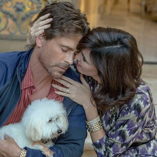 Rob Lowe stars as Ben Novack Jr. and Paz Vega stars as Narcy in Lifetime's Beautiful & Twisted (2015). Photo credit by Jack Zeman. - beautiful-twisted04