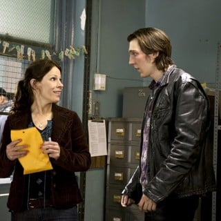 Lili Taylor stars as Joy and Paul Dano stars as Nick Flynn in Focus Features' Being Flynn (2012)