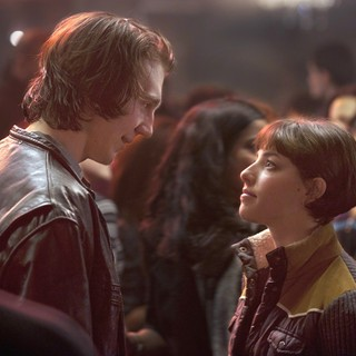 Paul Dano stars as Nick Flynn and Olivia Thirlby stars as Denise in Focus Features' Being Flynn (2012)