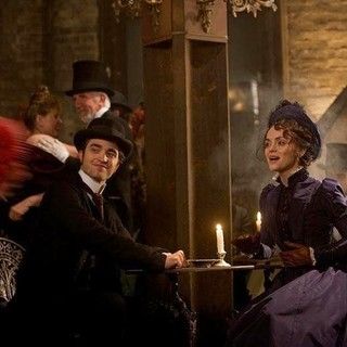 Robert Pattinson stars as Georges Duroy and Christina Ricci stars as Clotilde de Marelle in Magnolia Pictures' Bel Ami (2012) - bel-ami-pic06