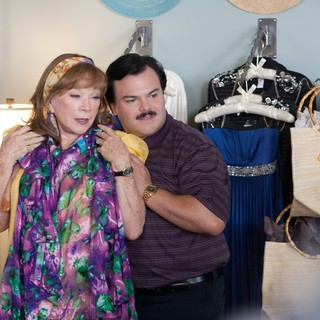 Shirley MacLaine and Jack Black (Bernie) in Millennium Films' Bernie (2012)