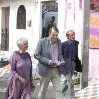 Judi Dench, Tom Wilkinson and Bill Nighy in Fox Searchlight Pictures' The Best Exotic Marigold Hotel (2012). Photo credit by Ishika Mohan. - best-exotic-marigold-hotel01