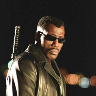 Wesley Snipes as Blade in New Line Cinema's Blade Trinity (2004)