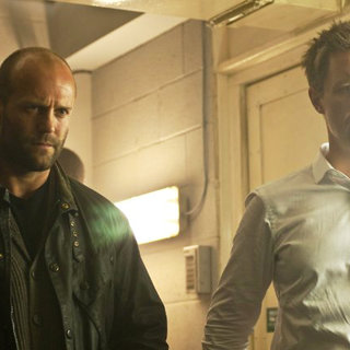 Jason Statham stars as Detective Sergeant Tom Brant and Paddy Considine stars as Porter Nash in Lionsgate's Blitz (2011)