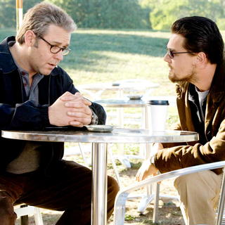 Body of Lies - Russell Crowe stars as Ed Hoffman and Leonardo DiCaprio stars as Roger Ferris in Warner Bros. Pictures' Body of Lies (2008). Photo credit by Francois Duhamel.