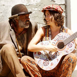 Ernie Dingo stars as Uncle Tadpole and 'Missy' Higgins stars as Annie in Freestyle Releasing's Bran Nue Dae (2010)