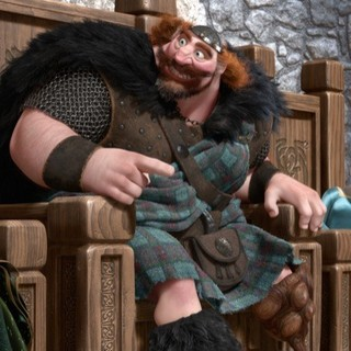 Brave - Queen Elinor, King Fergus and The Triplets of Walt Disney Pictures' Brave (2012)