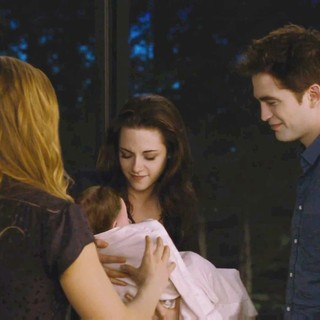 Kristen Stewart stars as Bella Cullen and Robert Pattinson stars as Edward Cullen in Summit Entertainment's The Twilight Saga's Breaking Dawn Part II (2012)