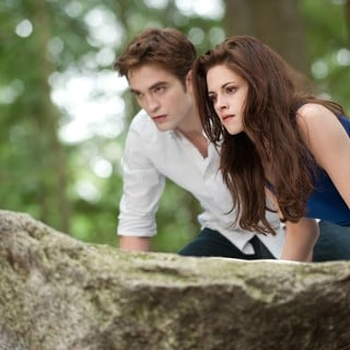 Robert Pattinson stars as Edward Cullen and Kristen Stewart stars as Bella Cullen in Summit Entertainment's The Twilight Saga's Breaking Dawn Part II (2012)