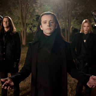 Christopher Heyerdahl, Michael Sheen and Jamie Campbell Bower in Summit Entertainment's The Twilight Saga's Breaking Dawn Part II (2012)