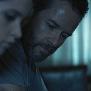 Felicity Jones stars as Sophie and Guy Pearce stars as Keith in Cohen Media Group's Breathe In (2013)