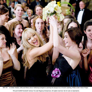 Kate Hudson stars as Liv and Anne Hathaway stars as Emma in Fox 2000 Pictures' Bride Wars (2009). Photo credit by Claire Folger.