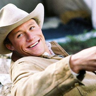 Brokeback Mountain - Heath Ledger as Ennis Del Mar in Focus Features'