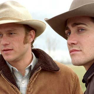 Brokeback Mountain - Heath Ledger and Jake Gyllenhaal in Focus Features'