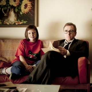 Eloise Laurence stars as Skunk and Tim Roth stars as Archie in Film Movement's Broken (2013)