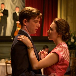 Domhnall Gleeson stars as Jim Farrell and Saoirse Ronan stars as Ellis Lacey in Fox Searchlight Pictures' Brooklyn (2015) - brooklyn-image01