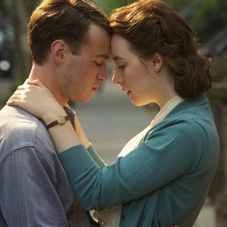 Domhnall Gleeson stars as Jim Farrell and Saoirse Ronan stars as Ellis Lacey in Fox Searchlight Pictures' Brooklyn (2015) - brooklyn02